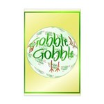 Gobble Gobble Mini Poster Print