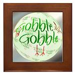 Gobble Gobble Framed Tile
