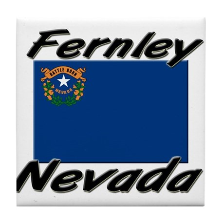 Fernley Nevada Tile Coaster