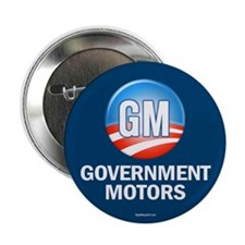 "GM - Government Motors 2.25"" Button (10 pack)"