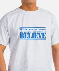 Blue Napoleon Hill Quote T-Shirt