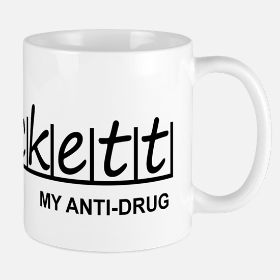 """Beckett Anti Drug"" Mug"