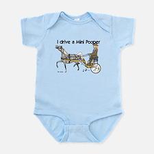 Mini Pooper Infant Bodysuit