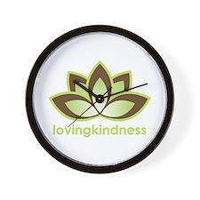 Loving Kindness Wall Clock