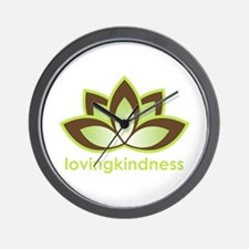 Loving Kindness Wall Clock