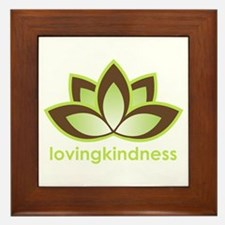 Loving Kindness Framed Tile