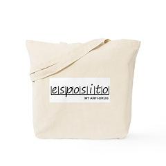 """Esposito Anti Drug"" Tote Bag"