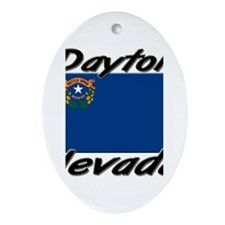 Dayton Nevada Oval Ornament