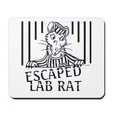 Escaped Lab Rat Mousepad