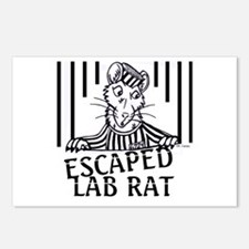 Escaped Lab Rat Postcards (Package of 8)
