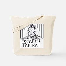 Escaped Lab Rat Tote Bag
