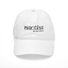 """Martha Anti Drug"" Baseball Cap"