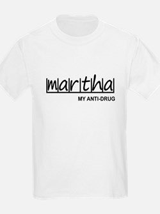 """Martha Anti Drug"" T-Shirt"