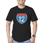 The Broad Highway Men's Fitted T-Shirt (dark)