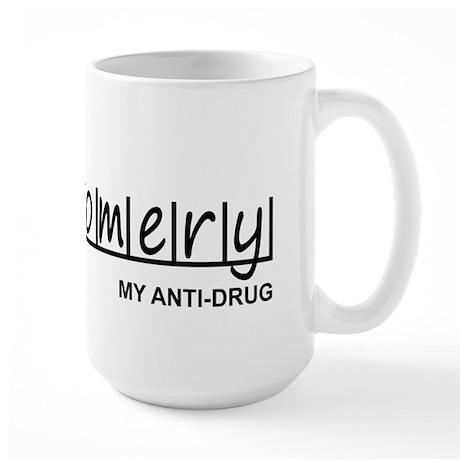 """""""Montgomery Anti Drug"""" Large Mug"""