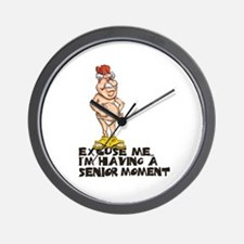SENIOR MOMENT Wall Clock