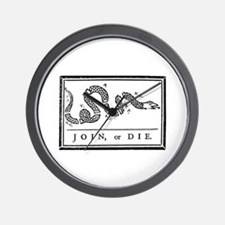 Join, or Die Wall Clock