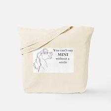 Mini Smile Tote Bag