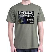 papillion nebraska - greatest place on earth T-Shirt