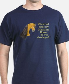 Buckskin MHs God Showoff T-Shirt