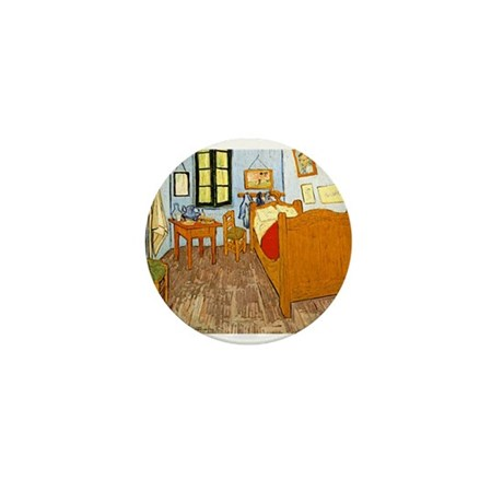 Room at Arles Mini Button (100 pack)