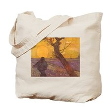 Van Gogh The Sower Tote Bag