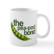 """Pea-Pod Bond"" Small Mug"