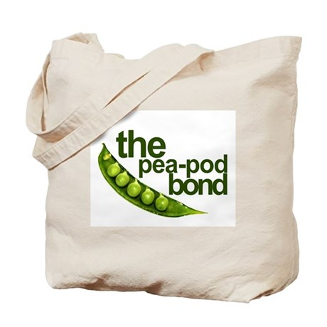"""Pea-Pod Bond"" Tote Bag"