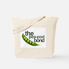 """Pea-Pod Bond"" Tote Bag"