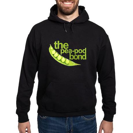 """Pea-Pod Bond"" Hoodie (dark)"
