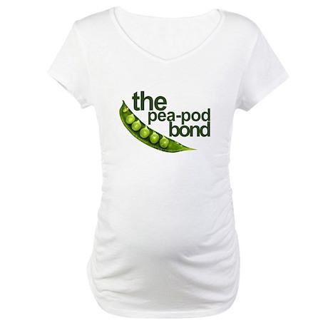 """""""Pea-Pod Bond"""" Maternity T-Shirt"""