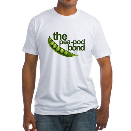 """""""Pea-Pod Bond"""" Fitted T-Shirt"""