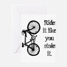 Ride It Greeting Cards (Pk of 20)
