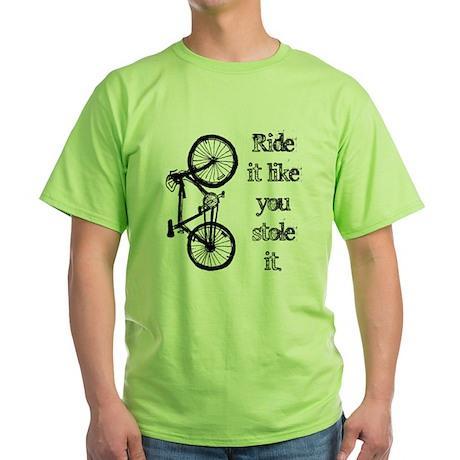 Ride It Green T-Shirt