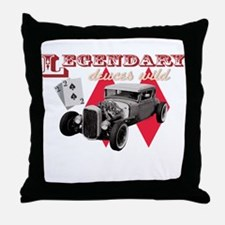 deuce Throw Pillow