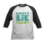 Daddy's Lil' Squirt Kids Baseball Jersey