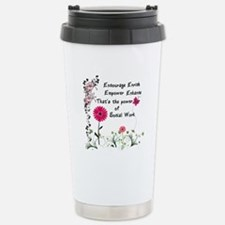Power of Social Work Stainless Steel Travel Mug