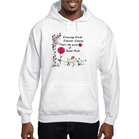 Power of Social Work Hooded Sweatshirt