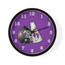 Rockford Ravens Wall Clock