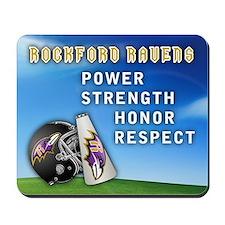 Official Rockford Ravens - Mousepad
