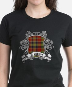 Hunter Tartan Shield Tee
