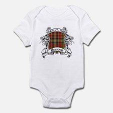 Hunter Tartan Shield Infant Bodysuit