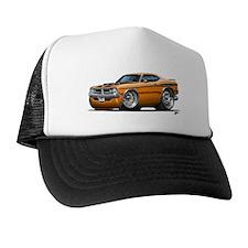 Dodge Demon Orange Car Trucker Hat