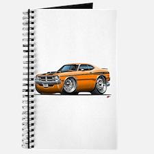 Dodge Demon Orange Car Journal