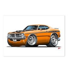 Dodge Demon Orange Car Postcards (Package of 8)