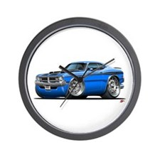 Dodge Demon Blue Car Wall Clock