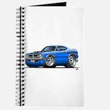 Dodge Demon Blue Car Journal
