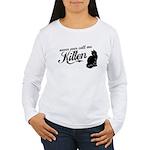 """""""Never Call Me Kitten"""" Women's Long Sleeve T-Shirt"""
