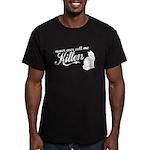 """""""Never Call Me Kitten"""" Men's Fitted T-Shirt (dark)"""