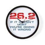 26.2 - If It Doesn't Hurt Wall Clock